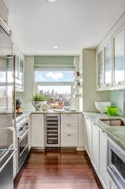 8 ways to make a small kitchen sizzle diy 1 downsize it