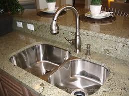 Kitchen Undermount Sink Undermount Stainless Kitchen Sinks Work Best With Solid Surface