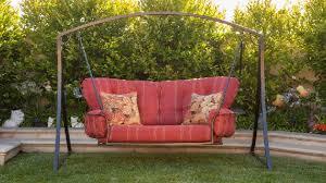 modern free standing porch swing u2014 bistrodre porch and landscape