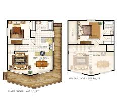 cottage floor plans with loft cottage home plans with loft best cabin ideas country house small