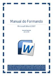 manual word 2009
