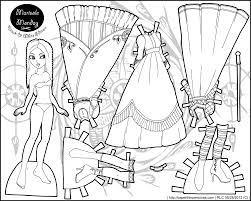 paper doll coloring pages printable coloring