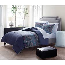 Bed In A Bag Set Vcny Dakota Reversible 7 Piece Bed In A Bag Set Free Shipping