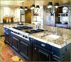 kitchen island designs with stove and sink kitchen island with