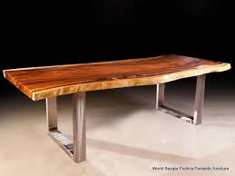 Stainless Steel Dining Table A Pair Dining Table Slab Legs Stainless Steel Flat Iron Or Rust