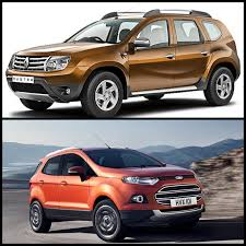 duster renault 2013 detailed comparison renault duster vs ford ecosport which