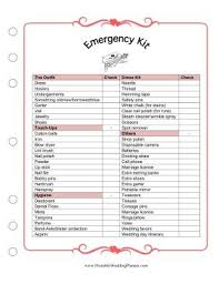 wedding checklist book keep your wedding plans in order with this handy wedding florist