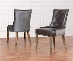 Faux Leather Dining Chairs With Chrome Legs Velvet Dining Chair U2013 Adocumparone Com
