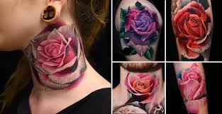 tattoo pictures color color rose tattoos by phil garcia