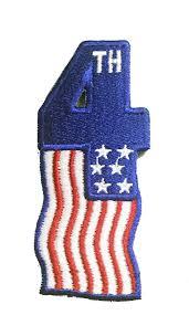 Uniform Flag Patch Patriotic Stock Flag Patches Penn Emblem Company