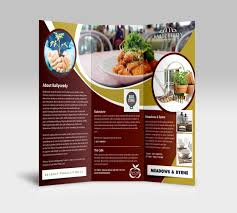 you cuisine catalogue ballyseedy cork tri fold brochure design expose design