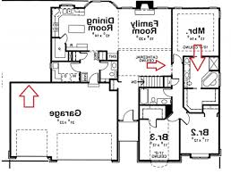 attractive small 4 bedroom floor plans with plan for house sf and