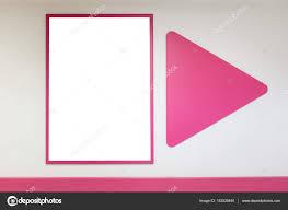acquisto cornici on line mock up frame poster in bianco con rosa cornici appende sulla
