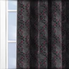 Aubergine Curtains Fryetts Palma Aubergine Curtain Custom Curtains