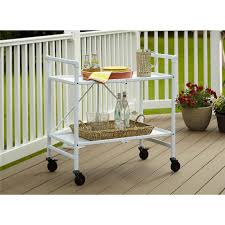 Folding Kitchen Cart by Cosco Folding Serving Cart Multiple Colors Walmart Com