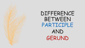 difference between gerund and participle non finite verbs youtube