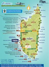 Mexico Map Cancun by Downtown Cozumel Map Cancun Tips