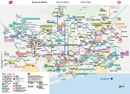 Metro Bus Map by Getting Around In Barcelona Metro Bus Tram Taxi Barcelona Guide