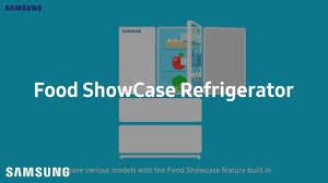 samsung discover food showcase refrigerator youtube