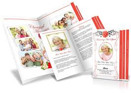 paper for funeral programs step fold funeral program template graduated fold
