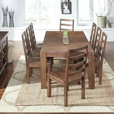 solid wood dining room sets 9 pc dining room set woodland ridge 8 chairs furniture solid