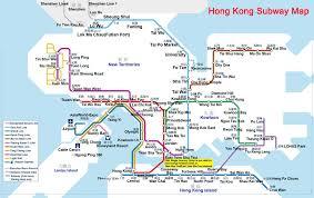 Ups Transit Map Hong Kong Maps Attractions Map Lantau Island Map Subway Map