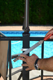 Big Umbrella For Patio by Best 25 Outdoor Umbrella Stand Ideas On Pinterest Diy Umbrella