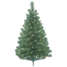 vickerman pink plastic 3 foot fir artificial tree with