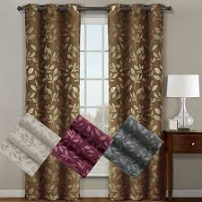 Blackout Curtain Panels With Grommets Pair Of Two Top Grommet Claire Micro Suede Jacquard Blackout Weave