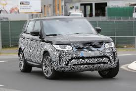 land rover sport 2017 spyshots 2017 range rover sport first photos autoevolution