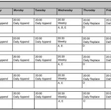 restaurant employee schedule template excel seminole work