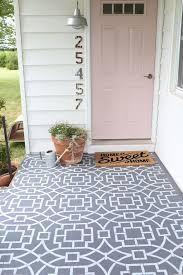 Outdoor Concrete Patio Paint 61 Best Stenciled Concrete Images On Pinterest Stencil Concrete