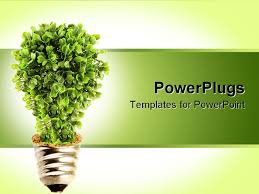 energy conservation powerpoint template free powerpoint