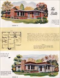 the butte by national plan service 1952 house plans mid