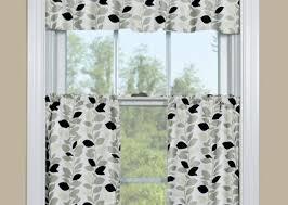 curtains rare white and peach kitchen curtains beloved kitchen