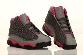 kid jordans nike air jordans kids 13 cool grey fusion pink 2013 46 14