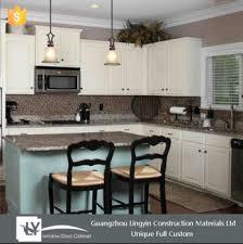 cuisine de bonne qualité moderne style blanc couleur haute brillant en bois armoires de