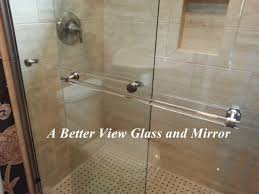 24 Frameless Shower Door 1 4 3 8 Semi Frameless Shower Doors