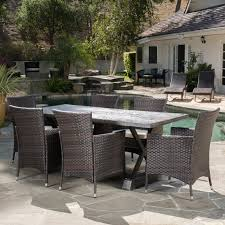 decor impressive christopher knight patio furniture with remodel belham living bella all weather wicker 7 piece patio dining set