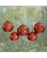 deal alert papier mache ornaments blossoms set of 4