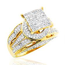 unique gold engagement rings engagement ring 1 41ct 14k gold