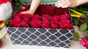 flowers in a box houston florist diy gift box roses in a box ace flowers