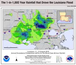 Rain Map Usa by Climate Signals Baton Rouge Flood August 2016