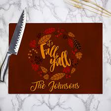 custom thanksgiving gifts and decor personalized thanksgiving
