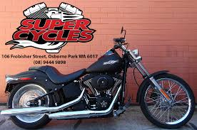 2007 harley davidson fxstb softail night train supercycles
