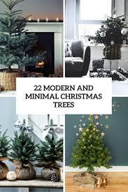 22 minimalist and modern tree décor ideas digsdigs
