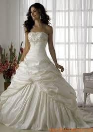 robe de mariã e traine robe de mariée princesse taffetas traîne
