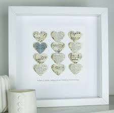 silver anniversary gifts personalised silver anniversary framed picture by made in words
