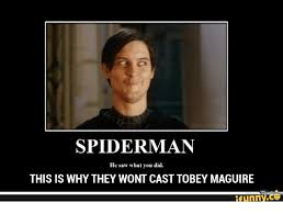 Meme Tobey Maguire - 25 best memes about tobey maguire funny tobey maguire funny