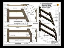 Twin Full Bunk Bed Plans by Twin Full Bunkbed Plans Youtube